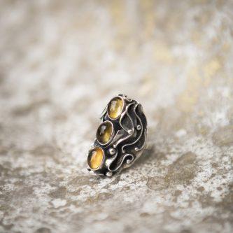 Citrine Ring | Belle Femme