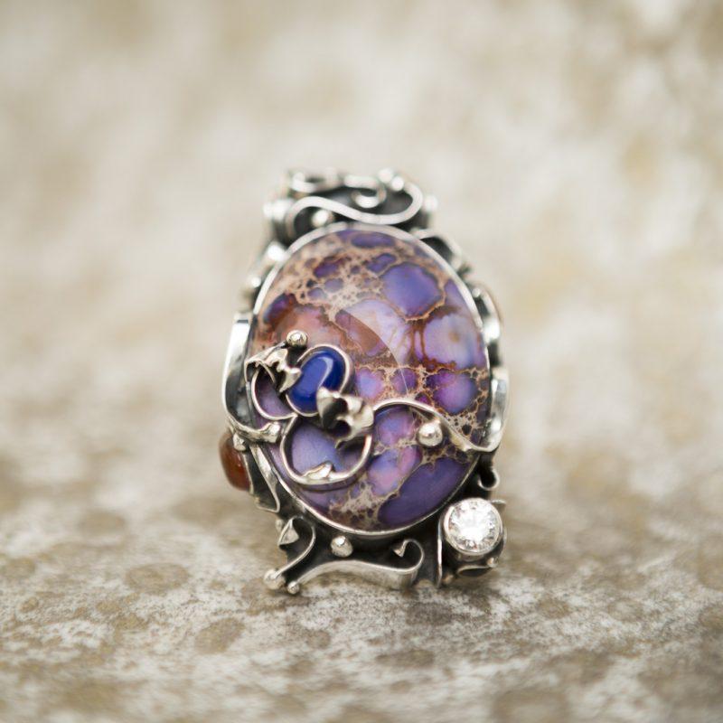 Violet Jasper Pendant | Belle Femme