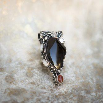 Obsidian Pendant | Belle Femme