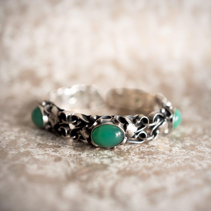 Crysoprase Bracelet