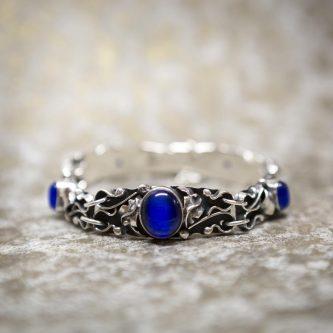 Sapphire Cat's Eye Bracelet